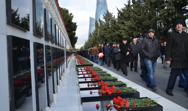 Azerbaijan commemorates 26th anniversary of 20th January tragedy