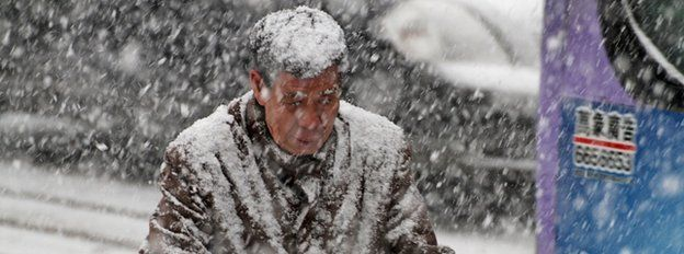 East Asia cold snap 'kills 85 in Taiwan'