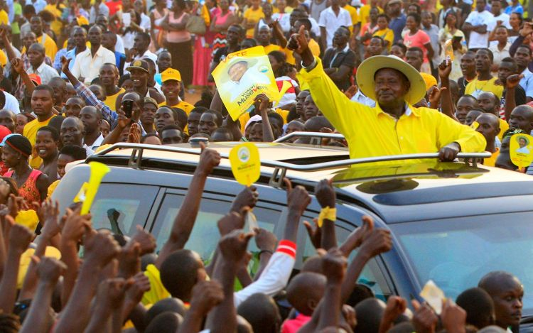 Uganda holds final rallies ahead of general election
