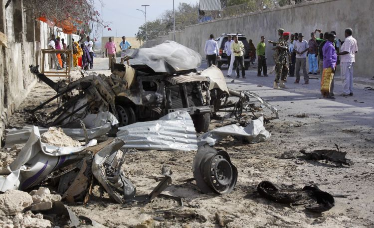 At least 30 dead in Baidoa, Somalia, bombings - governor