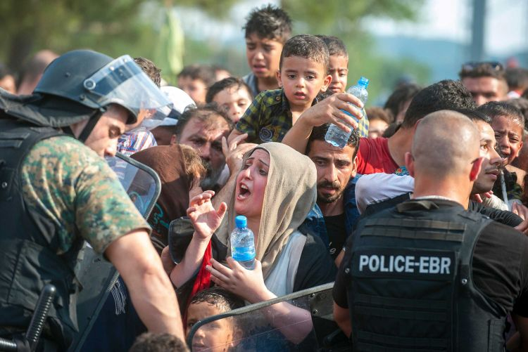 Fears for migrants at Macedonia border