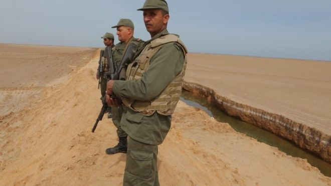Tunisia kills militants near Libya border