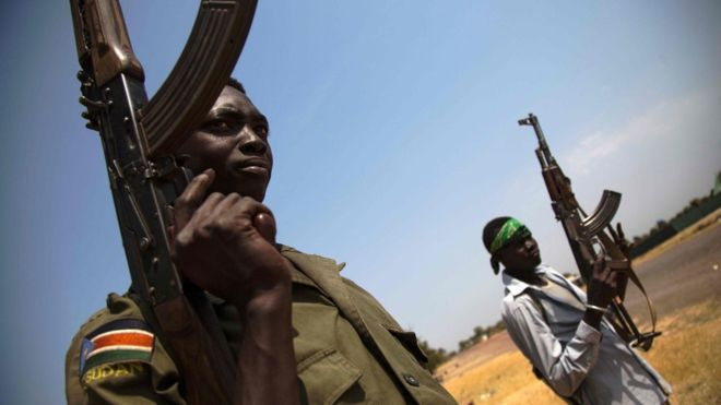 South Sudan army 'suffocated 60 in container'