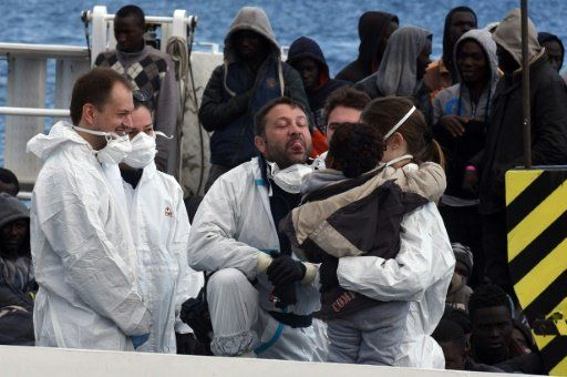 Nearly 1,500 migrants rescued off Libya: Italian coastguard