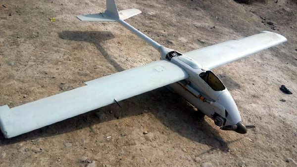 Azerbaijani Army seized Armenia's UAV - PHOTOS