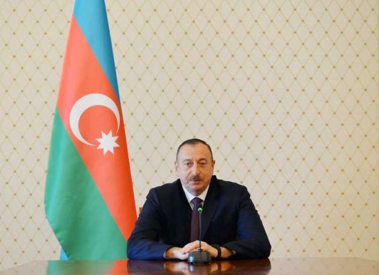 Ilham Aliyev meets heads of diplomatic missions, int'l organizations of Muslim countries - PHOTOS