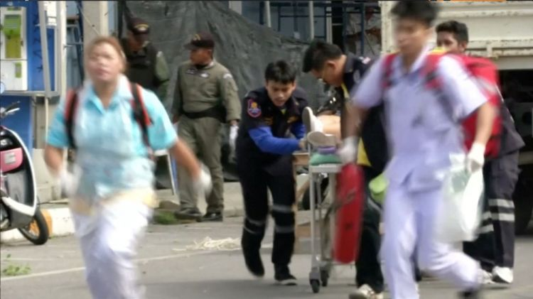 Thailand shaken by multiple bomb blasts - VIDEO