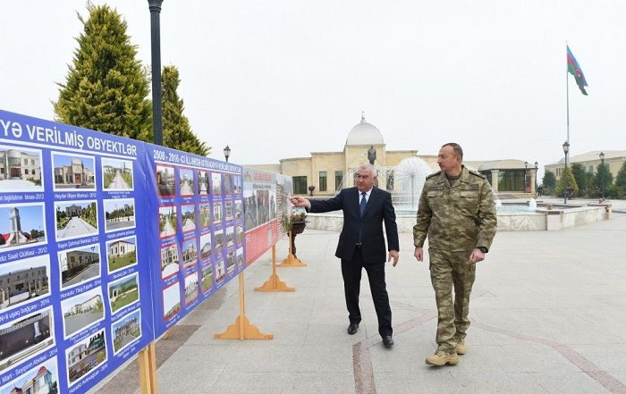 President Ilham Aliyev attends openings