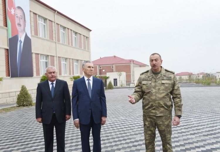 "Azerbaijani President: ""Armenians, settled in our lands, now live in poverty"""