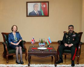 Azerbaijan and the UK discussed the broad prospects for military-technical cooperation