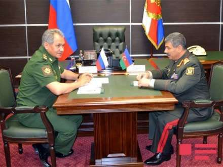 Azerbaijan is security outpost in Caspian region: Russian defense minister