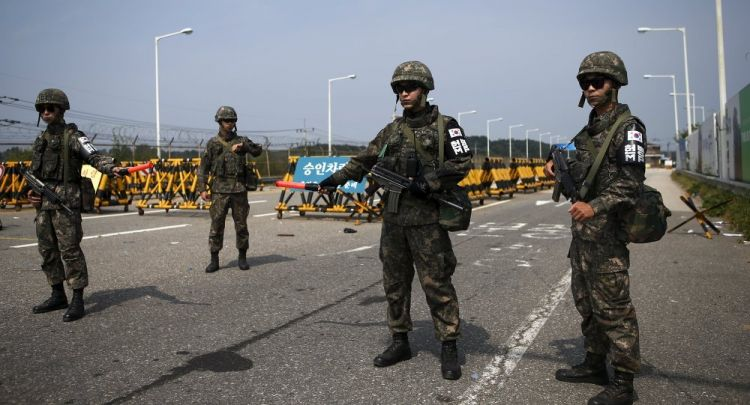 Over 20 Soldiers Injured in Explosion at South Korean Military Base