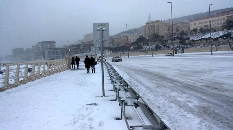 Snowfall expected for Azerbaijan