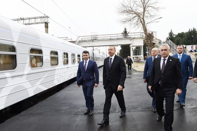 "Ilham Aliyev attends opening of ""ASAN Kommunal"" Center in Baku"