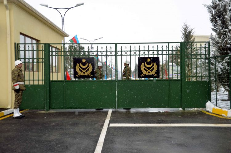 The opening of a new military camp took place in the frontline zone - PHOTOS