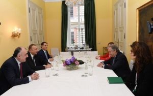 Azerbaijani president meets with UN Secretary-General in Munich