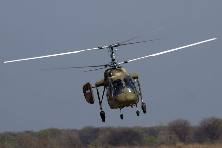 Russia to start deliveries of helicopters to India