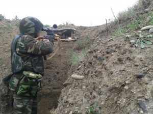 Armenia violates ceasefire with Azerbaijan 110 times