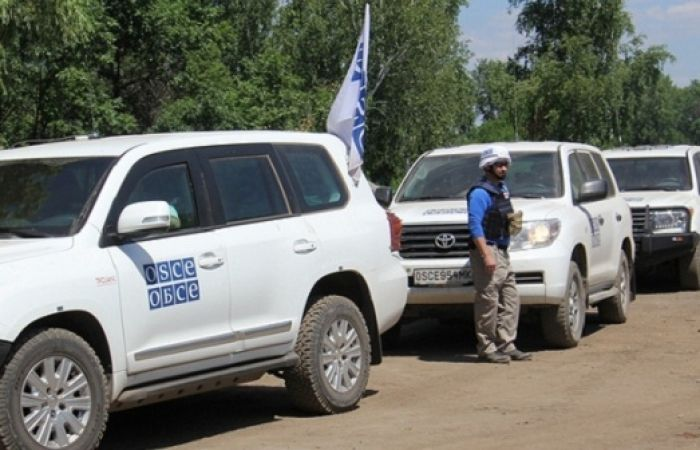 No incident during OSCE contact line monitoring