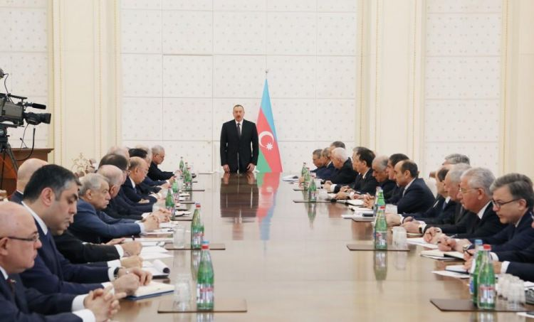 Ilham Aliyev chairs Cabinet meeting on results of first quarter of 2017, future tasks
