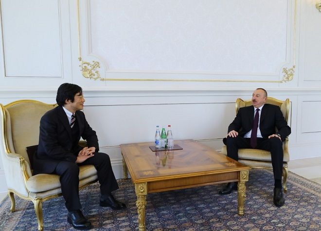 President Ilham Aliyev received credentials of incoming Japanese ambassador