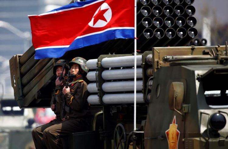 North Korea carries out 'large-scale' artillery drill