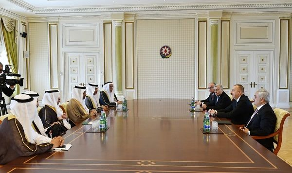 Ilham Aliyev received Arabian minister