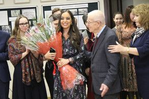 Leyla Aliyeva visits Institute of Asian and African Studies at MSU