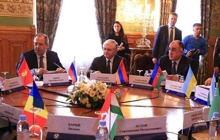 Foreign ministers of Azerbaijan, Armenia and Russia start meeting in Moscow