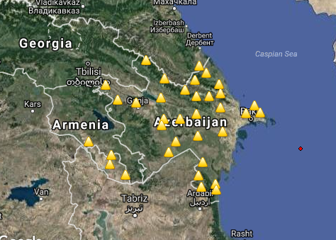 Earthquake hit Azerbaijan - Iran border