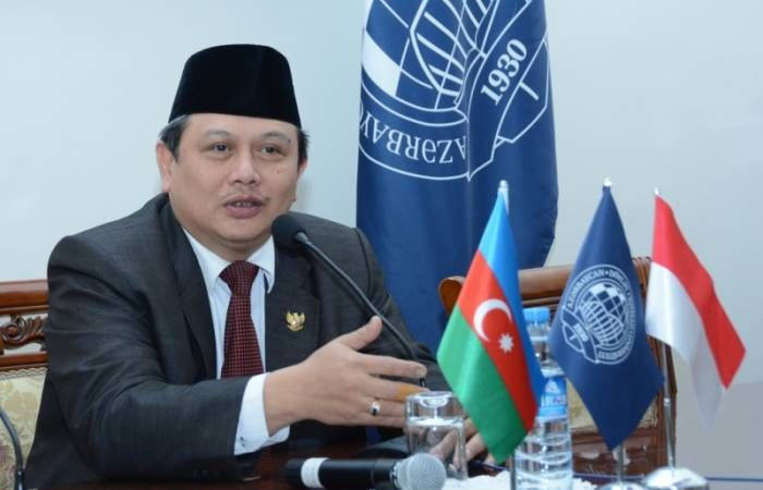 Karabakh conflict is Azerbaijan's internal affair - Indonesian envoy