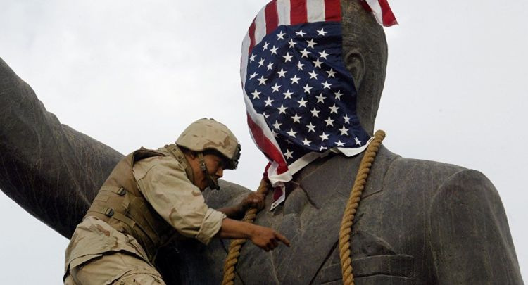Condoleezza Rice: US Invaded Iraq to Oust Saddam Hussein, Not to Bring Democracy