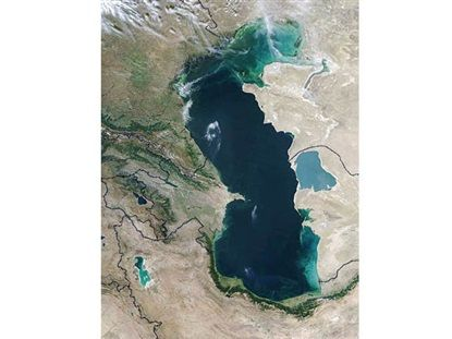 Caspian states to mull sea's legal status in Ashgabat