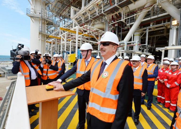 Shahdeniz 2 to produce additional 16 bcm of gas – president - PHOTOS