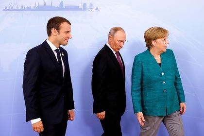 Putin, Merkel, Macron Discuss Ukraine Settlement on Sidelines of G20 Summit