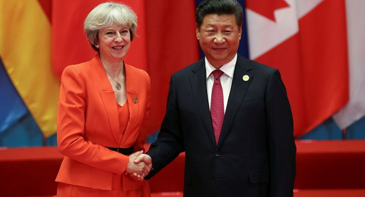 Xi Jinping calls for cooperation with the UK