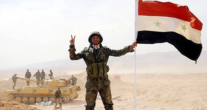 Syrian army crosses Euphrates river