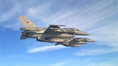 16 PKK terrorists killed in northern Iraq airstrikes