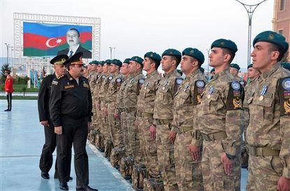 Azerbaijani peacekeepers return from Afghanistan