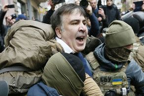 Saakashvili calls his supporters to protests from prison