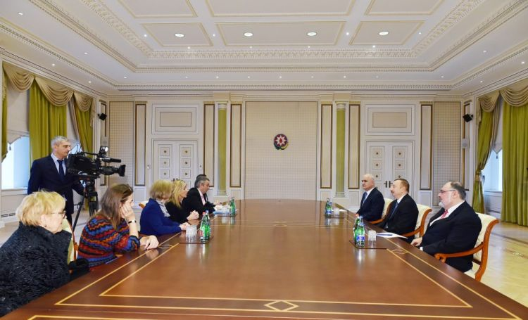 President Ilham Aliyev received delegation led by UK Minister of State for Trade and Export Promotion