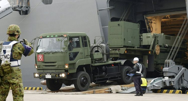 Japan Reportedly Holds Drills With PAC-3 Air Defense Missile System in Nagasaki