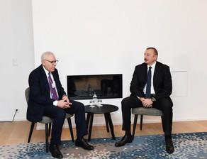 Ilham Aliyev has met with David Rubenstein
