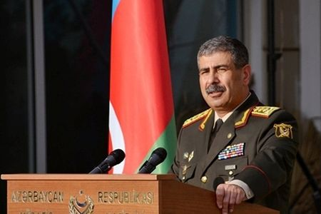 Azerbaijan Defense Minister left for Minsk