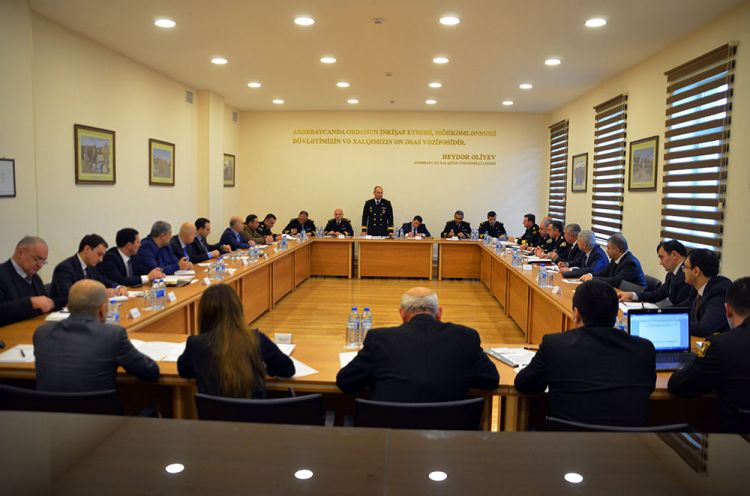 Unified Coordination Group held a meeting in the Naval Forces of Azerbaijan