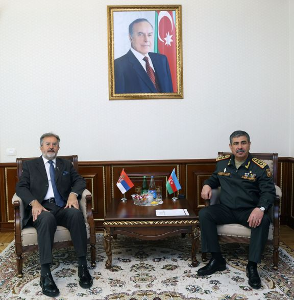 Azerbaijan and Serbia discussed the issues of military cooperation
