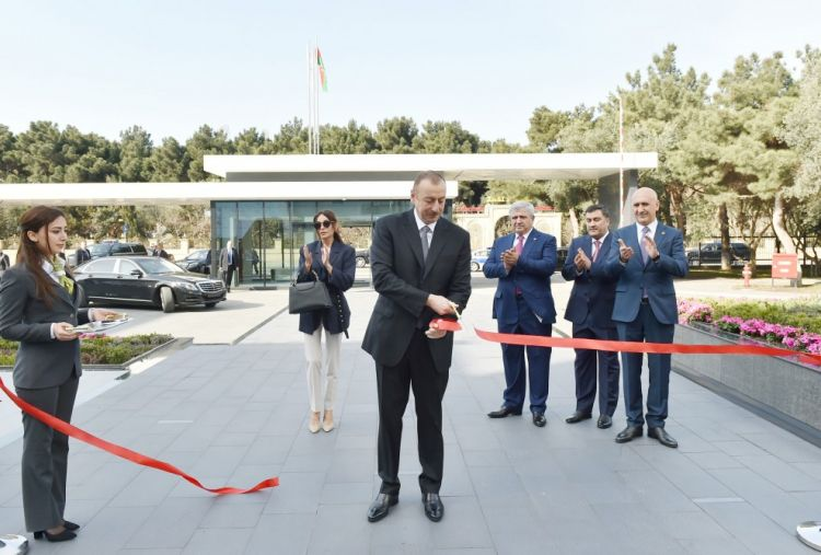 Opening ceremony of Bona Dea International Hospital held in Baku  President Ilham Aliyev attended the opening ceremony