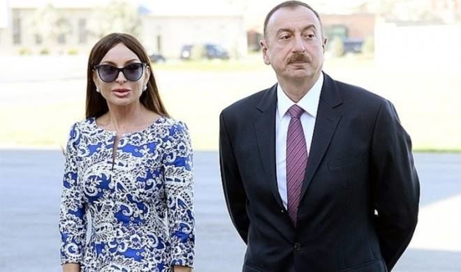 Ilham Aliyev, First Lady attend opening of Haji Javad Mosque