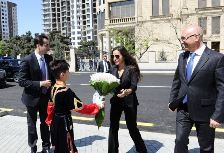 "Leyla Aliyeva attends inauguration of another yard redeveloped under ""Bizim həyət"" project"