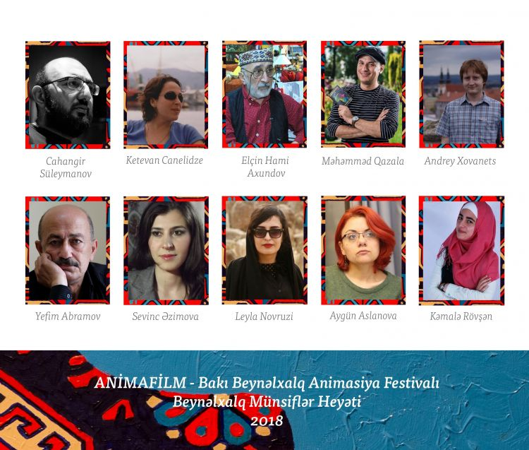 The Jury Members of The First ANIMAFILM Baku International Animation Festival Have Been Announced